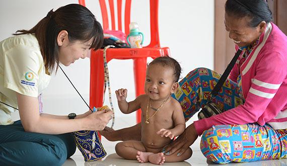 国際医療ボランティアまでの流れ