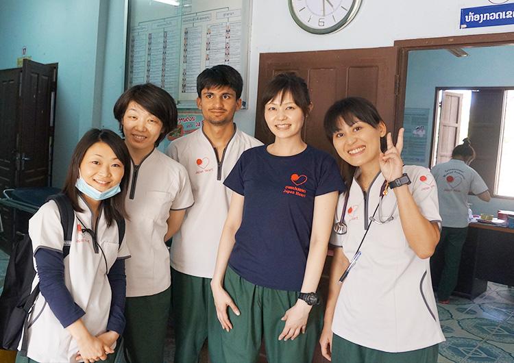 国際医療ボランティア看護師