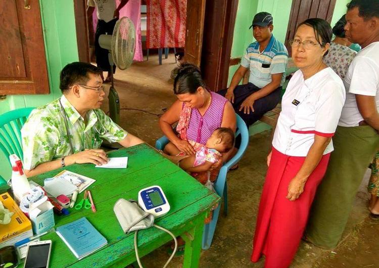 ジャパンハート ミャンマー 医療活動レポート
