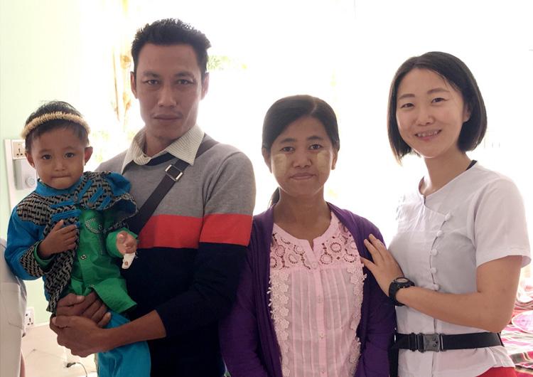ジャパンハート ミャンマーボランティア 看護師の声