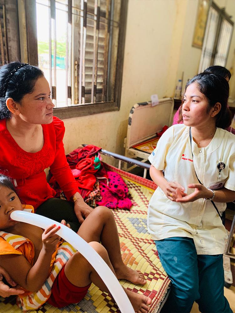 ジャパンハート 国際医療ボランティア カンボジア活動レポート