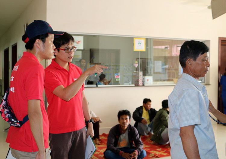 ジャパンハート 国際医療ボランティア カンボジア事業部 活動レポート