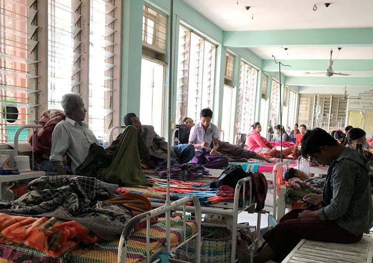 ジャパンハート 国際医療ボランティア ミャンマー活動レポート 手縫いガーゼとボランティア