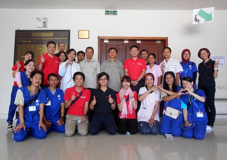 国際医療ボランティア ジャパンハート カンボジア トヨタ