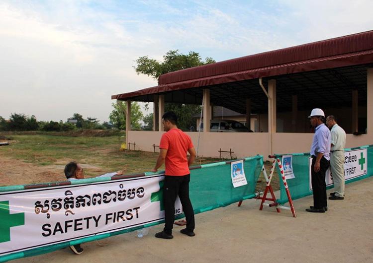 国際医療ボランティア ジャパンハート カンボジア  給食センター