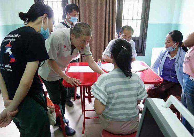 ジャパンハート ラオス 国際医療ボランティア