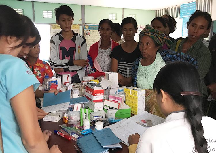 国際医療ボランティア ジャパンハート ミャンマー ドクターカー