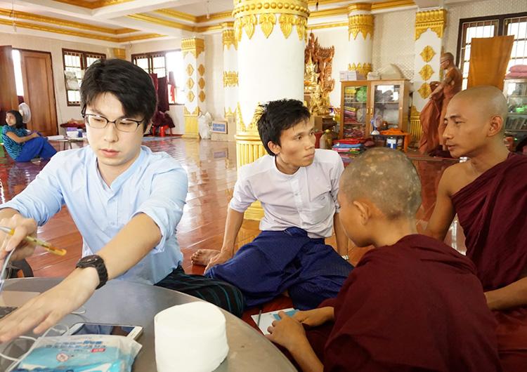 国際医療ボランティア ジャパンハート ミャンマー  孤児院
