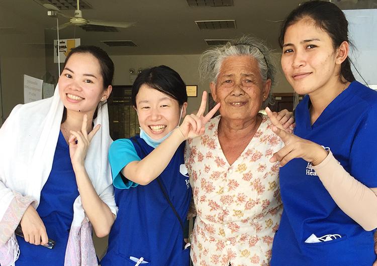ジャパンハート カンボジア看護師研修