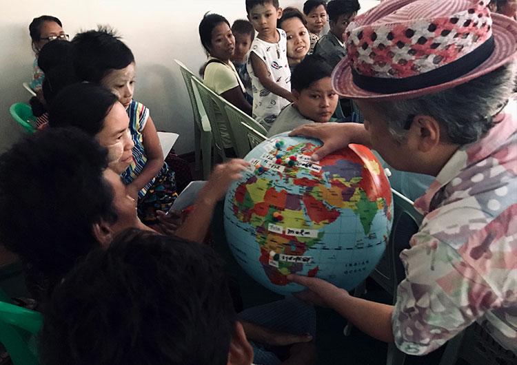 病気と闘う子どもたちに日本の心と魂を届ける 〜ミャンマー専門医療プロジェクト〜