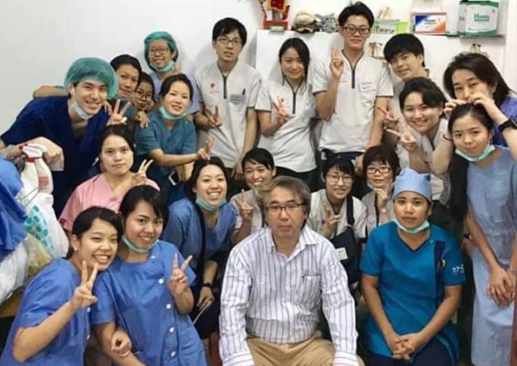看護師 海外研修 医療活動