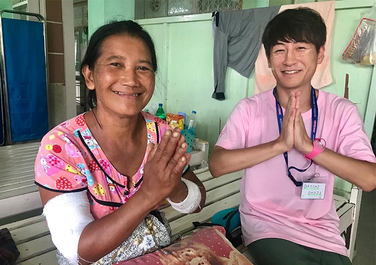 看護師 ボランティア ミャンマー ジャパンハート