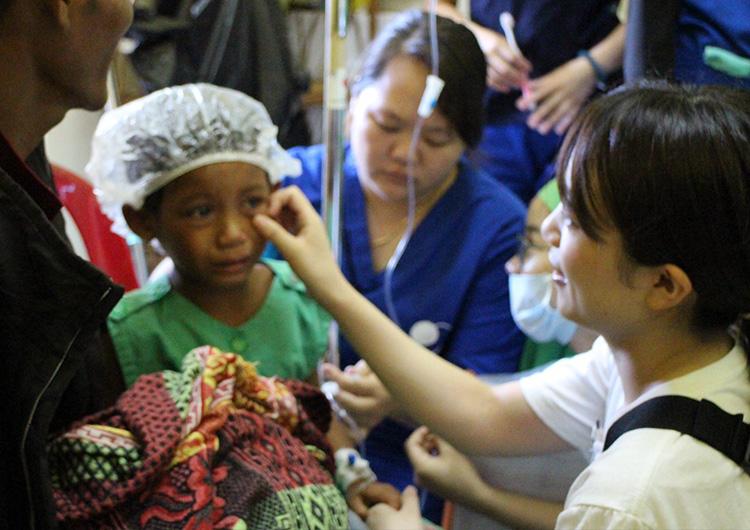 看護師 ボランティア 参加者の声