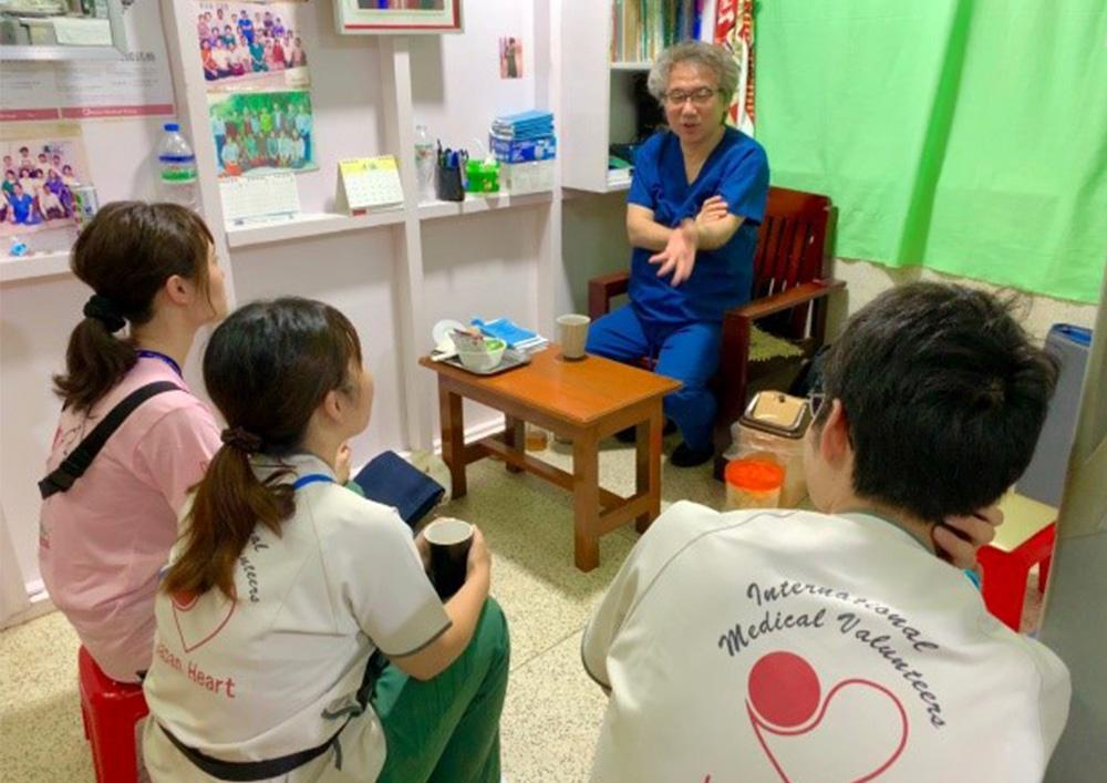 ミャンマー 看護師 ボランティア