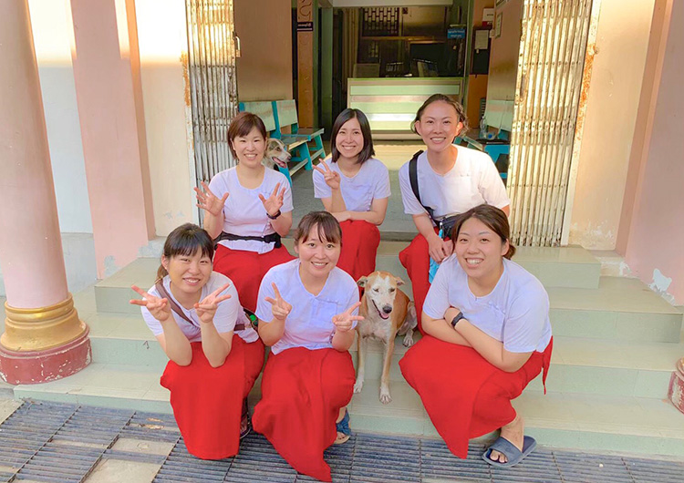 ミャンマー 医療活動 ボランティア 看護師