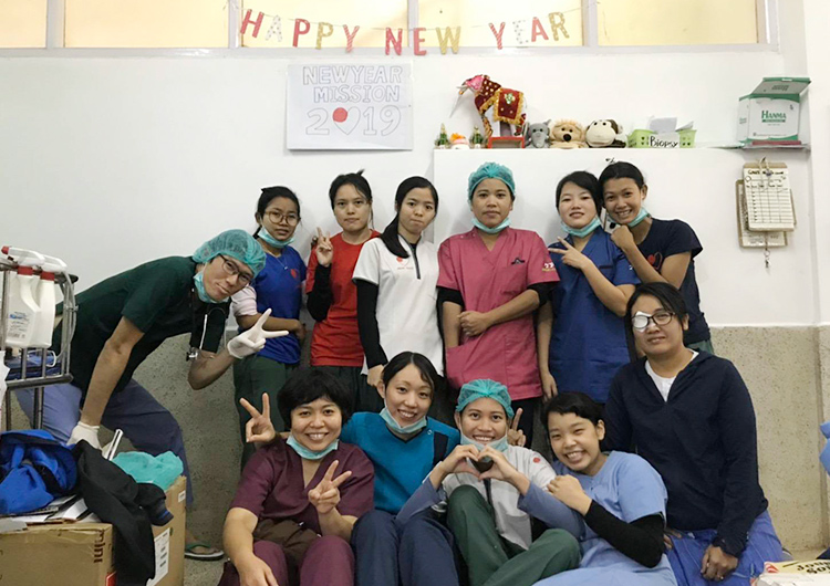 ジャパンハート 長期看護師研修生